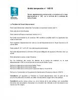 Travaux 2019 – Déviation