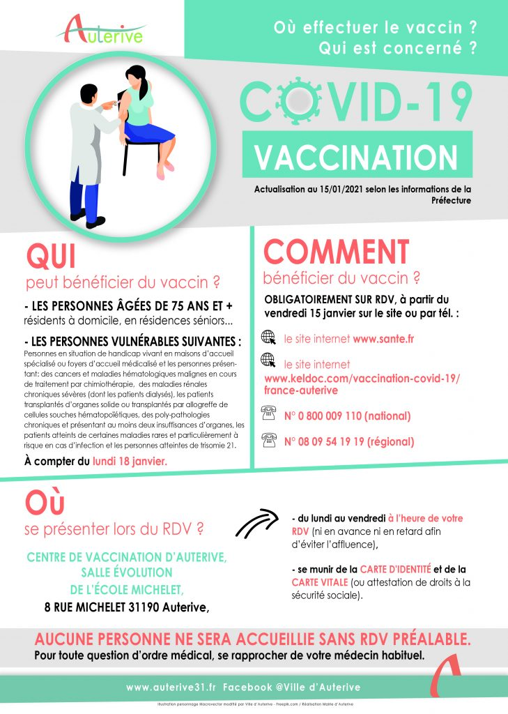 Affiche vaccination Covid