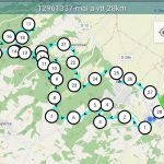 Parcours VTT long 28km - D+468m