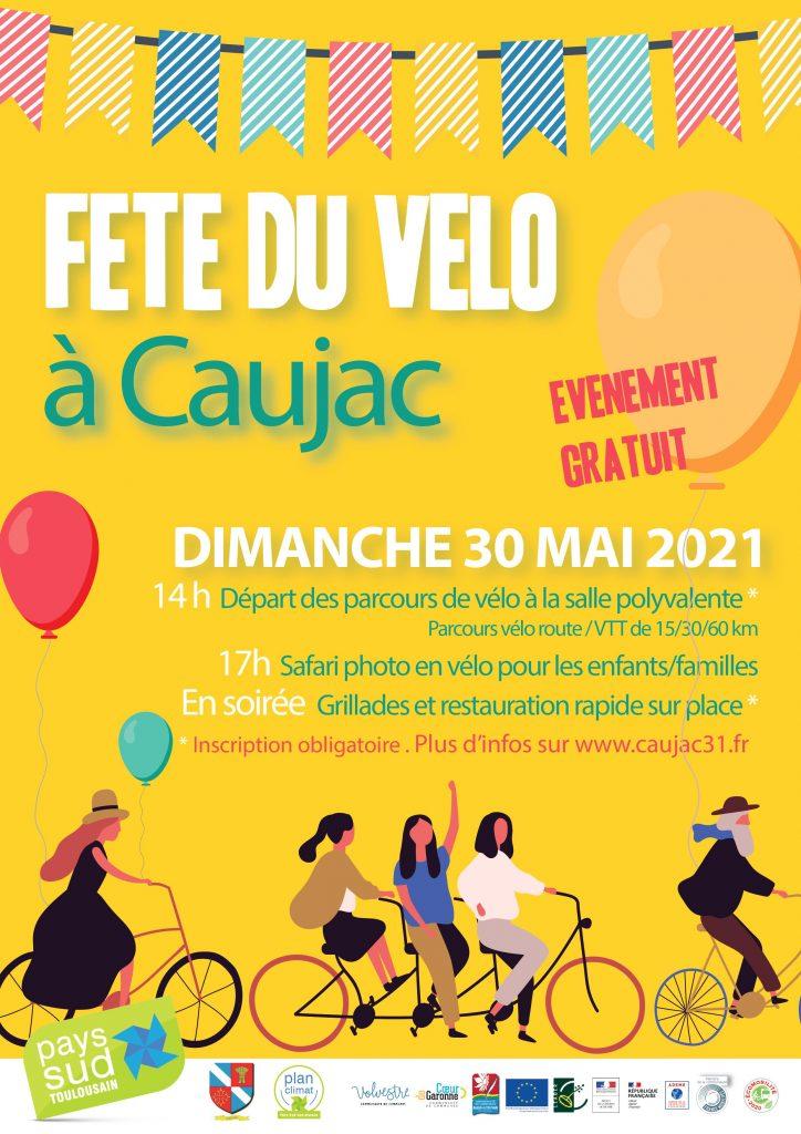Fête du vélo à Caujac